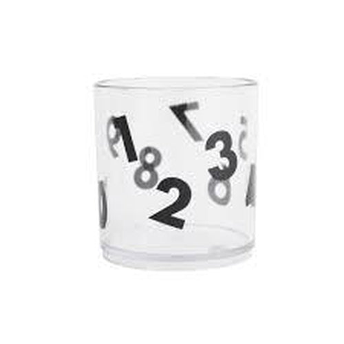 Buddy + Bear Number Tumbler - Clear-Jack & Willow