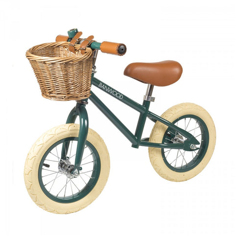 Banwood First Go Balance Bike - Dark Green