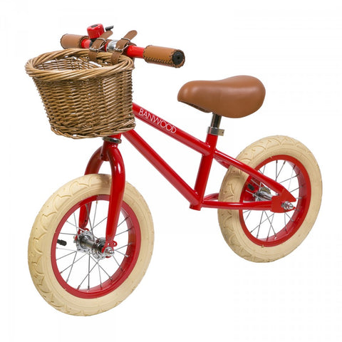 Banwood First Go Balance Bike - Red