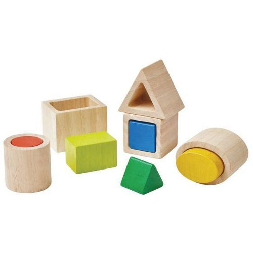 Plan Toys Wooden Matching Boxes-Jack & Willow