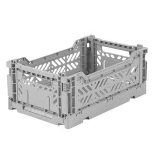 Ay-Kasa Mini Storage Crate - Grey (MARCH PRE-ORDER)-Jack & Willow
