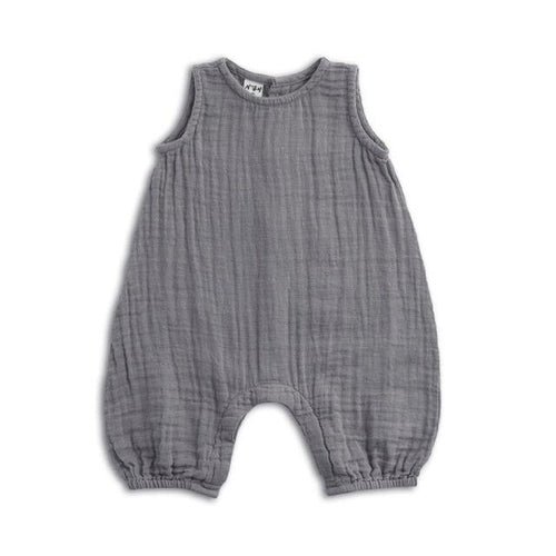 Numero 74 Stef Baby Combi Suit - Stone Grey-Jack & Willow