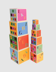 Rex Colourful Creatures Stacking Blocks