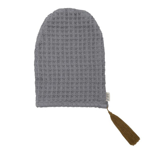 Numero 74 Waffle Wash Glove - Stone Grey-Jack & Willow
