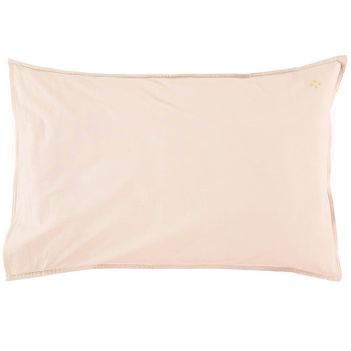 Camomile London Solid Pillowcase - Pink (SEPT PRE-ORDER)-Jack & Willow