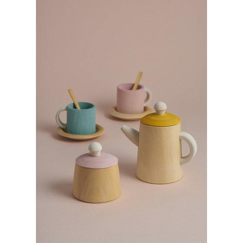 Raduga Grez Tea Set - Mustard & Pink (APRIL PRE-ORDER)-Jack & Willow