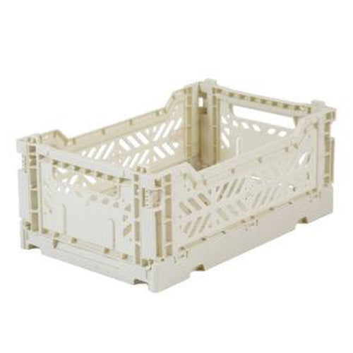 Ay-Kasa Mini Storage Crate - Light Grey (MARCH PRE-ORDER)-Jack & Willow
