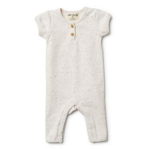 Wilson & Frenchy Rib Growsuit - Fleck-Jack & Willow