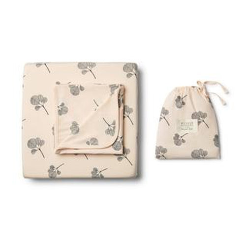 Wilson & Frenchy Organic Sheet Set - Fan Leaf-Jack & Willow