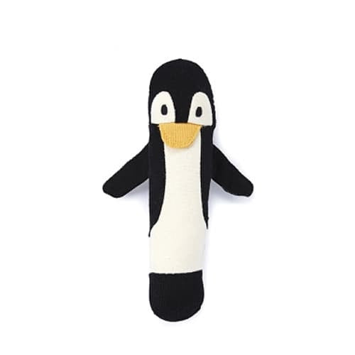 Nana Huchy Penguin Baby Rattle-Jack & Willow