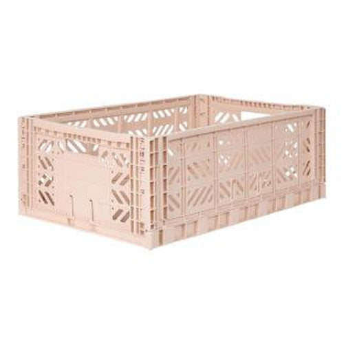 Ay-Kasa Maxi Storage Crate - Milk Tea (MARCH PRE-ORDER)-Jack & Willow