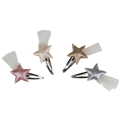 Numero 74 Irridescent Star Hair Clip - Various Colours-Jack & Willow