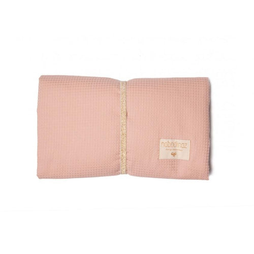 Nobodinoz Travel Changing Pad - Mozart Misty Pink-Jack & Willow