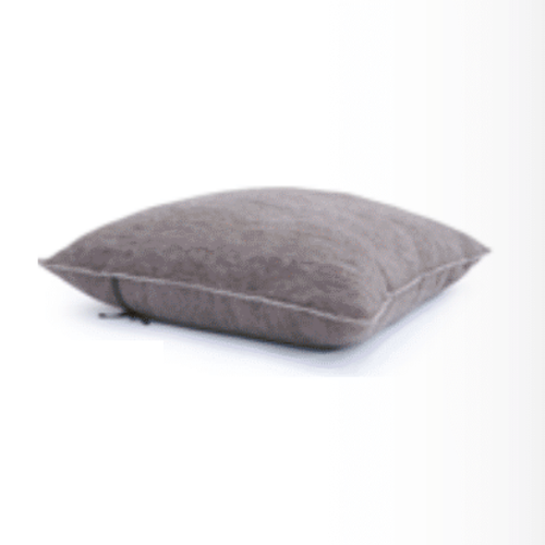 Muskhane Floor Cushion Cover - Stone & Natural-Jack & Willow