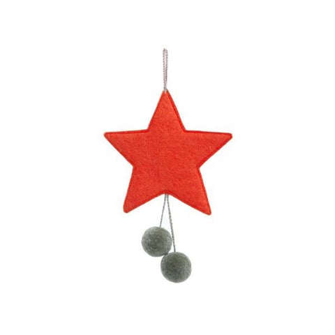 Muskhane Star Hanging Mobile - Coloured