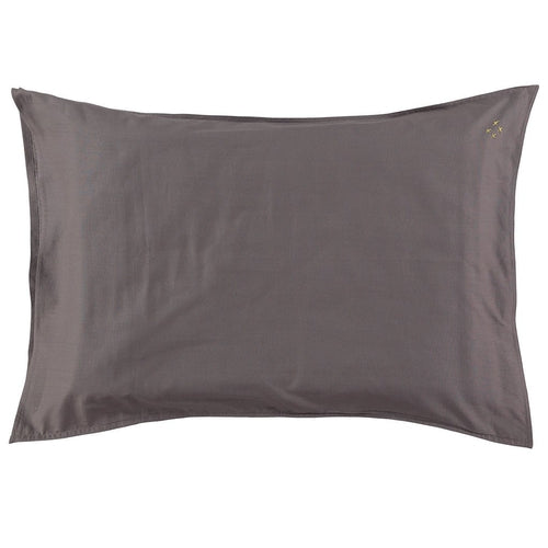 Camomile London Solid Pillowcase - Grey (SEPT PRE-ORDER)-Jack & Willow
