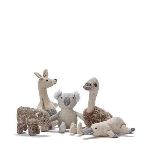 Nana Huchy Mini Eddi Emu Rattle-Jack & Willow
