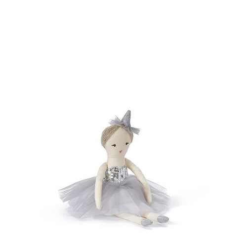 Nana Huchy Mini Marshmallow Doll - Silver (MID DECEMBER PRE-ORDER)-Jack & Willow