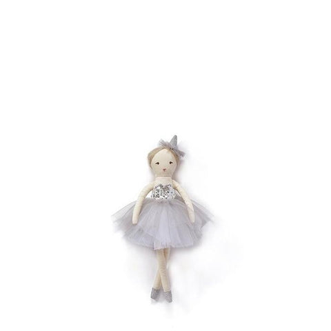 Nana Huchy Mini Marshmallow Doll - Silver-Jack & Willow