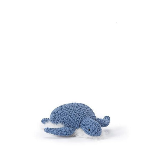 Nana Huchy Toby Turtle Rattle - Blue-Jack & Willow