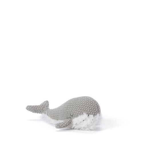 Nana Huchy Wanda Whale Rattle - Grey-Jack & Willow