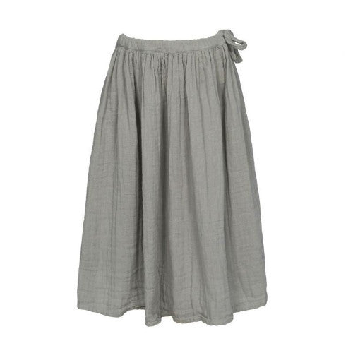 Numero 74 Ava Maxi Skirt - Silver Grey-Jack & Willow