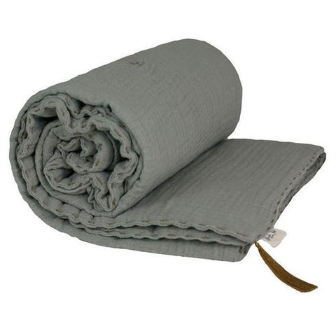 Numero 74 Bedding Thick Blanket Single - Silver Grey-Jack & Willow