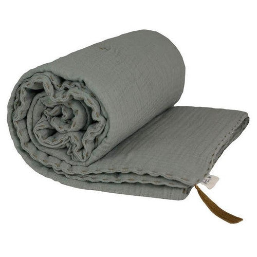 Numero 74 Bedding Thick Blanket Single - Silver Grey