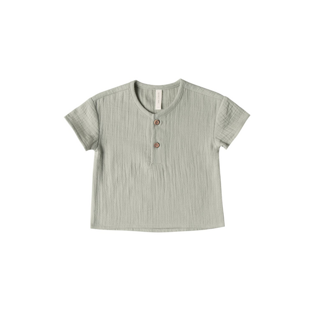 Quincy Mae Henry Short Sleeve Tee - Sage