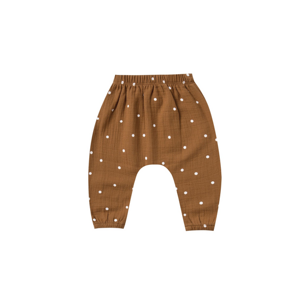 Quincy Mae Harem Pants - Walnut