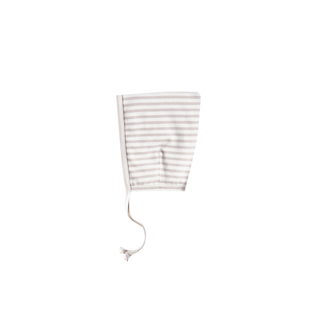Quincy Mae Pixie Bonnet - Fog Stripe
