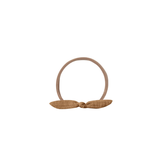 Quincy Mae Little Knot Headband - Walnut
