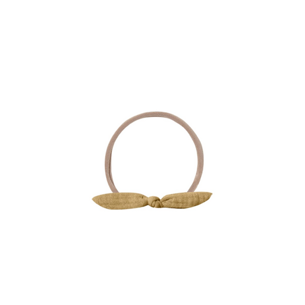 Quincy Mae Little Knot Headband - Honey