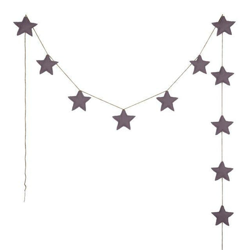 Numero 74 Mini Star Garland - Dusty Lilac-Jack & Willow