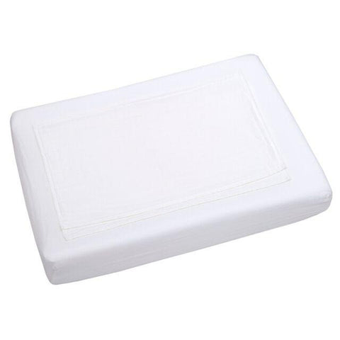 Numero 74 Fitted Changing Pad Cover - White-Jack & Willow