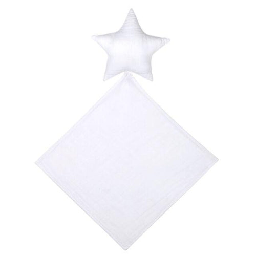 Numero 74 Star Doudou Comforter - White-Jack & Willow