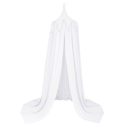 Numero 74 Cotton Circus Canopy Tent - White-Jack & Willow