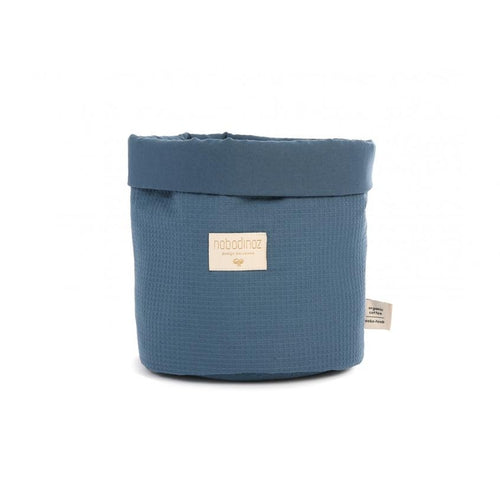Nobodinoz Basket - Night Blue-Jack & Willow