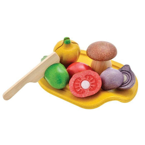 Plan Toys Assorted Vegetables Set-Jack & Willow