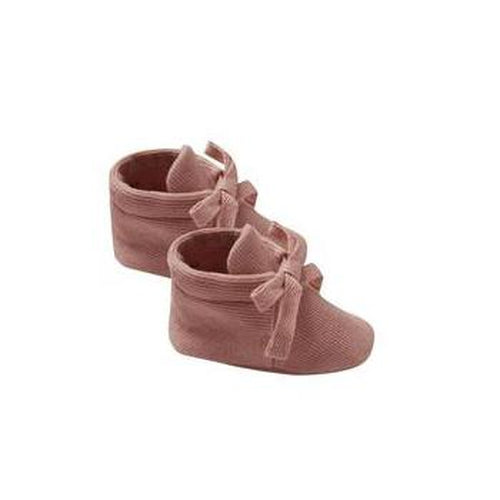 Quincy Mae Baby Booties - Clay-Jack & Willow
