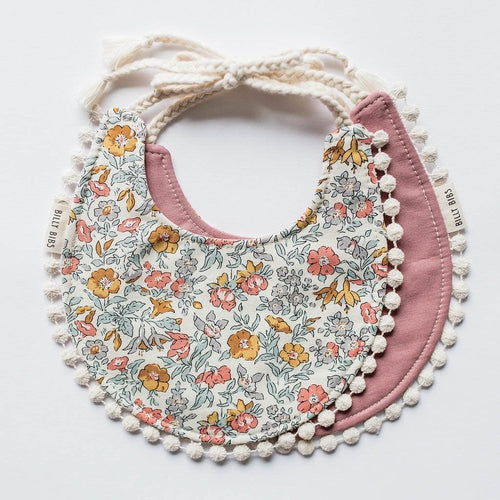 Billy Bibs - Violet Reversible Bib-Jack & Willow