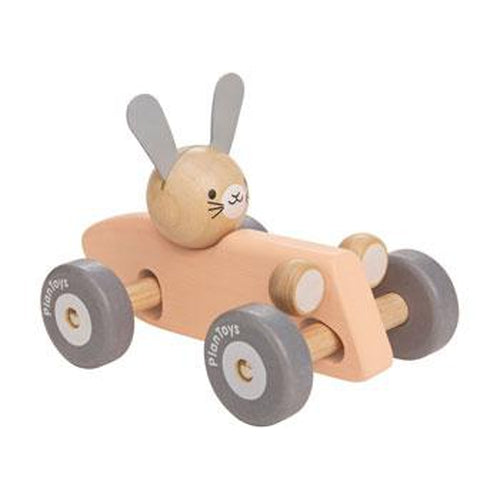 Plan Toys Bunny Racing Car-Jack & Willow