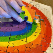 Papoose Bright Rainbow Puzzle - 16 Pcs