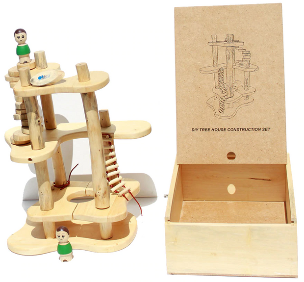 Q Toys Treehouse Construction Set