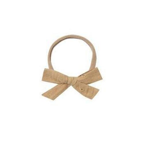 Rylee & Cru Bow with Headband - Honey Eyelet-Jack & Willow