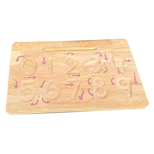 QToys Number Tracking Board-Jack & Willow