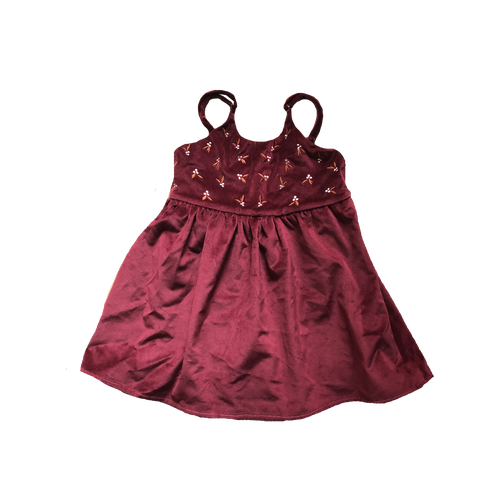 Piper Bug Christmas Velvet Mistletoe Dress (MID-LATE OCTOBER PRE-ORDER)-Jack & Willow