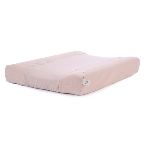 Nobodinoz Changing Mat Cover - Calma Honeycomb Misty Pink-Jack & Willow