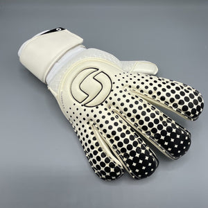 Classic 2.0 Rollfinger Goalkeeper Gloves White/Black