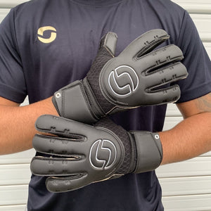 Classic 2.0 Junior Rollfinger Black Out Goalkeeper Gloves